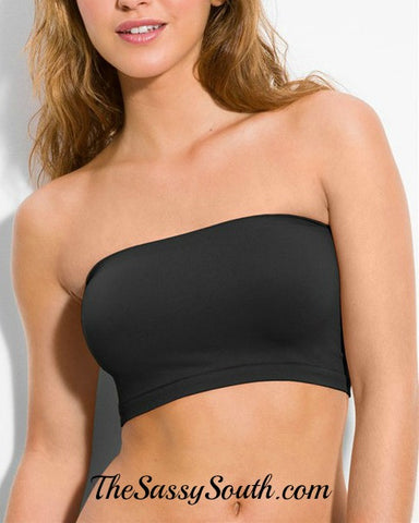 Bandeau (Brown or Charcoal) - Undergarments - The Sassy South Boutique