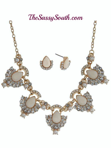 Fancy Affair Necklace Set - Jewelry - The Sassy South Boutique