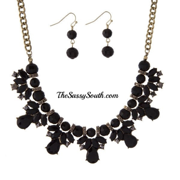 Elegance is Key Necklace Set - Jewelry - The Sassy South Boutique