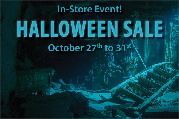 Halloween Sale: October 27th - 31st