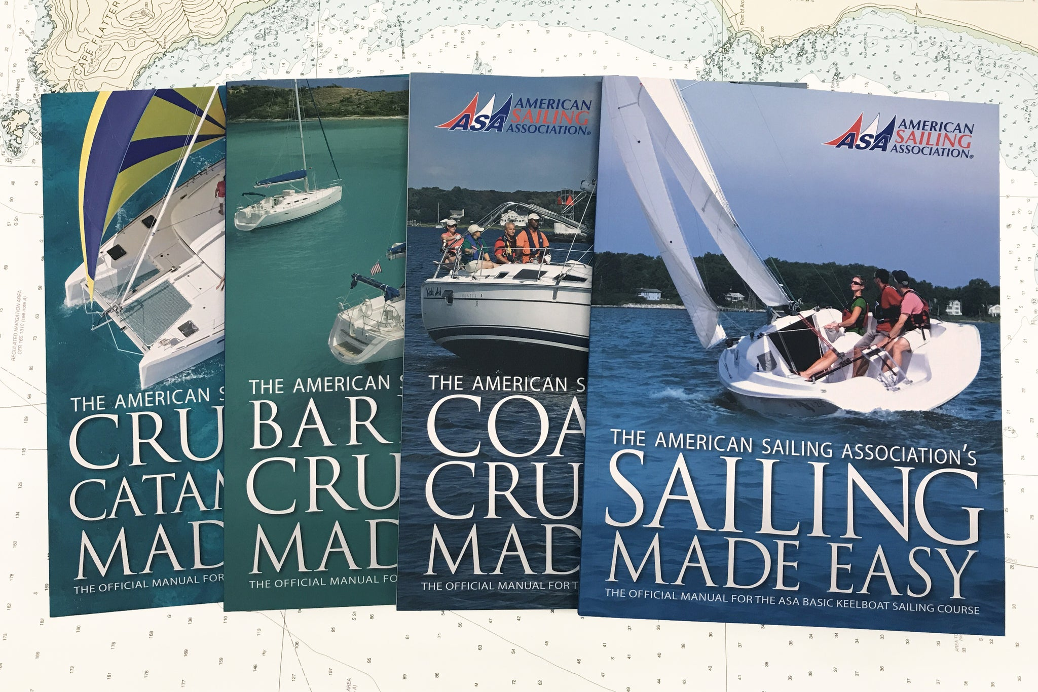 American Sailing Association Textbooks Now In Stock In Seattle