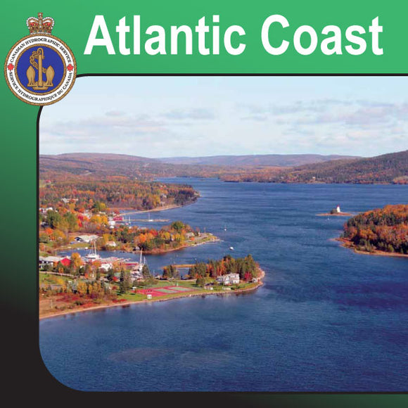 Canadian Charts for the Atlantic Coast