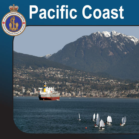 Canadian Charts for the Pacific Coast