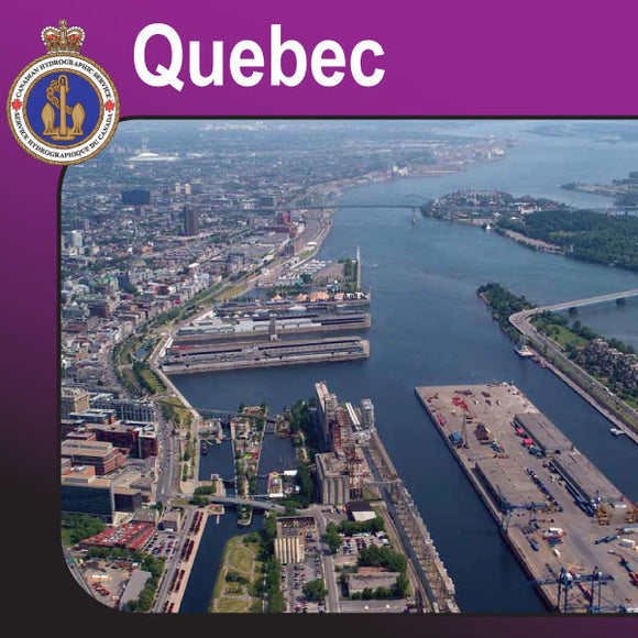 Canadian Charts for Quebec & the St. Lawrence Seaway
