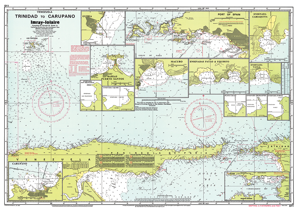 Imray Cruising Charts For Caribbean Waters Page 2 Captains Supplies