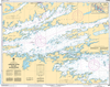 CHS Print-on-Demand Charts Canadian Waters-6109: Sandpoint Island to/aux Anchor Islands, CHS POD Chart-CHS6109
