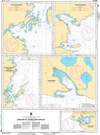 CHS Print-on-Demand Charts Canadian Waters-4516: Harbours in / Havres dans Hare Bay, CHS POD Chart-CHS4516