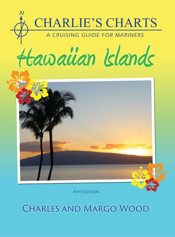 Captain's-Nautical-Supplies-Charlie's-Charts- Hawaiian Islands-Margo-Wood