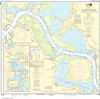 NOAA Print-on-Demand Charts US Waters-Houston Ship Channel Alexander Island to Carpenters Bayou;San Jacinto and Old Rivers-11329