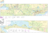 NOAA Print-on-Demand Charts US Waters-Intracoastal Waterway Ellender to Galveston Bay-11331