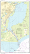 NOAA Print-on-Demand Charts US Waters-Sabine Pass and Lake-11342