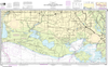 NOAA Print-on-Demand Charts US Waters-Intracoastal Waterway New Orleans to Calcasieu River West Section-11345