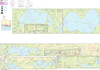 NOAA Print-on-Demand Charts US Waters-Intracoastal Waterway Forked Island to Ellender- including the Mermantau River- Grand Lake and White Lake-11348