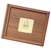 Teak Logbook Cover