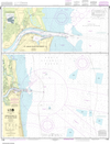 NOAA Print-on-Demand Charts US Waters-Approaches to St. Johns River;St. Johns River Entrance-11490