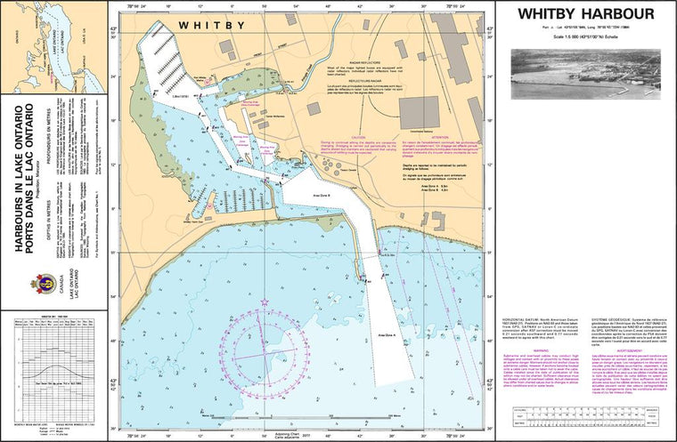 CHS Chart 2049: Whitby Harbour