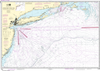 NOAA Print-on-Demand Charts US Waters-Approaches to New York- Nantucket Shoals to Five Fathom Bank-12300