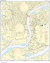 NOAA Print-on-Demand Charts US Waters-Philadelphia and Camden Waterfronts-12313