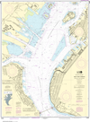 NOAA Print-on-Demand Charts US Waters-New York Harbor Upper Bay and Narrows-Anchorage Chart-12334