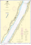 NOAA Print-on-Demand Charts US Waters-Hudson River Days Point to George Washington Bridge-12341