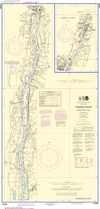 NOAA Print-on-Demand Charts US Waters-Hudson River Coxsackie to Troy-12348