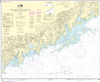 NOAA Print-on-Demand Charts US Waters-North Shore of Long Island Sound Sherwood Point to Stamford Harbor-12368