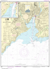 NOAA Print-on-Demand Charts US Waters-New Haven Harbor;New Haven Harbor (Inset)-12371