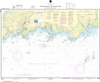 NOAA Print-on-Demand Charts US Waters-North Shore of Long Island Sound Guilford Harbor to Farm River-12373