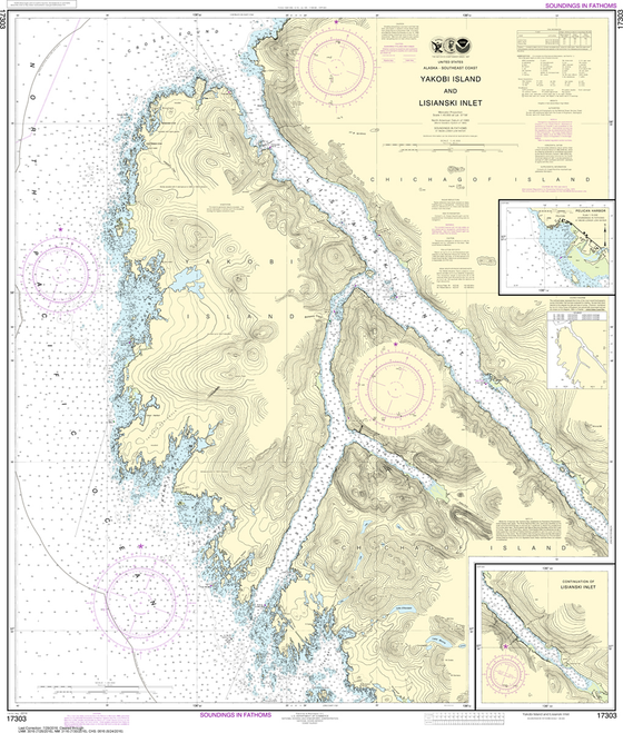 Pelican Bay Alaska Map.Us Charts Southeast Alaska Captain S Supplies
