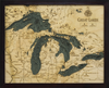 WoodChart of Great Lakes (Small)
