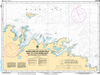 CHS Print-on-Demand Charts Canadian Waters-4519: Maiden Arm, Big Spring Inlet and/et Little Spring Inlet (and approaches/et les approches), CHS POD Chart-CHS4519