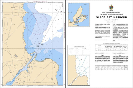 CHS Chart 4170: Glace Bay Harbour