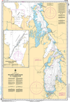 CHS Print-on-Demand Charts Canadian Waters-6240: Red River / RiviЏre Rouge to/€ Berens River, CHS POD Chart-CHS6240