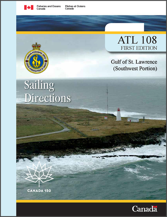 Sailing Directions ATL108E: Gulf of St. Lawrence