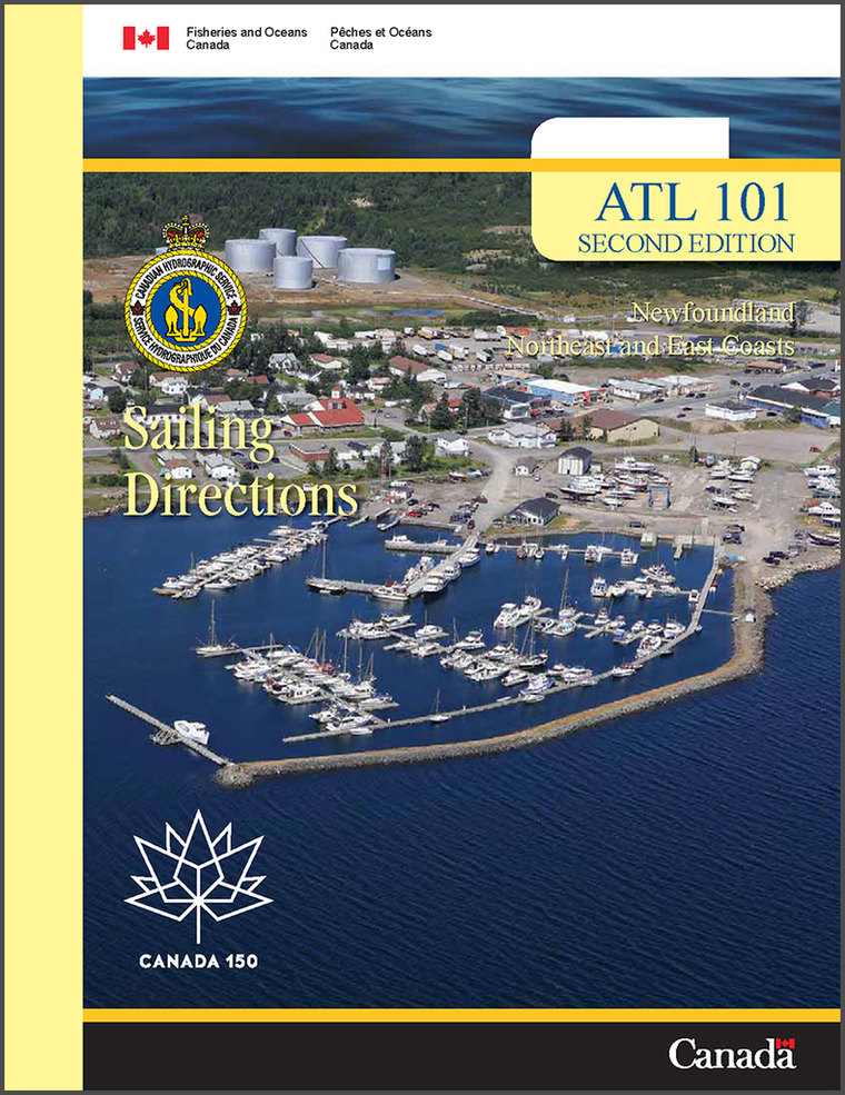 Sailing Directions ATL101E: Newfoundland, Northeast and East Coasts