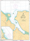 CHS Print-on-Demand Charts Canadian Waters-5457: Deception Bay, CHS POD Chart-CHS5457