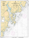 CHS Print-on-Demand Charts Canadian Waters-4616: Burin Harbours and Approches / et les approches, CHS POD Chart-CHS4616