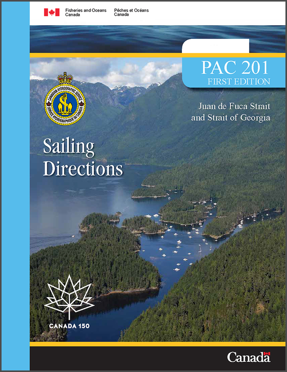Sailing Directions PAC201E: Juan de Fuca Strait and Strait of Georgia