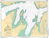 CHS Print-on-Demand Charts Canadian Waters-5469: Lac aux Feuilles, CHS POD Chart-CHS5469