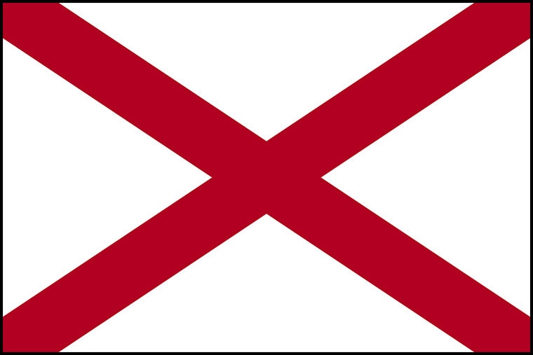 Alabama State Flag by Annin & Company