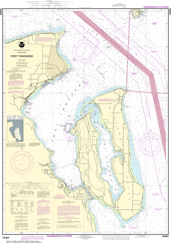 NOAA Chart 18464: Port Townsend