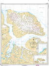 CHS Print-on-Demand Charts Canadian Waters-7212: Bylot Island and Adjacent Channels, CHS POD Chart-CHS7212