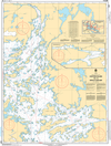 CHS Print-on-Demand Charts Canadian Waters-6107: Hostess Island to/€ Devils Cascade, CHS POD Chart-CHS6107