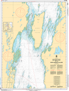 CHS Print-on-Demand Charts Canadian Waters-6272: Red Deer Point to/€ North Manitou Island, CHS POD Chart-CHS6272