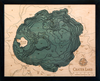 WoodChart of Crater Lake, Oregon