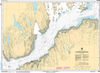 CHS Print-on-Demand Charts Canadian Waters-5468: Passage aux Feuilles, CHS POD Chart-CHS5468