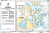 CHS Print-on-Demand Charts Canadian Waters-5080: Punchbowl Inlet and Approaches/et les approches, CHS POD Chart-CHS5080
