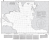 NGA Chart 17: Great Circle Sailing Chart of the North Atlantic Ocean