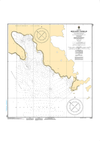 CHS Print-on-Demand Charts Canadian Waters-7135: Brevoort Harbour, CHS POD Chart-CHS7135