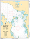 CHS Print-on-Demand Charts Canadian Waters-6273: North Manitou Island to/€ Whiskey Jack Island, CHS POD Chart-CHS6273